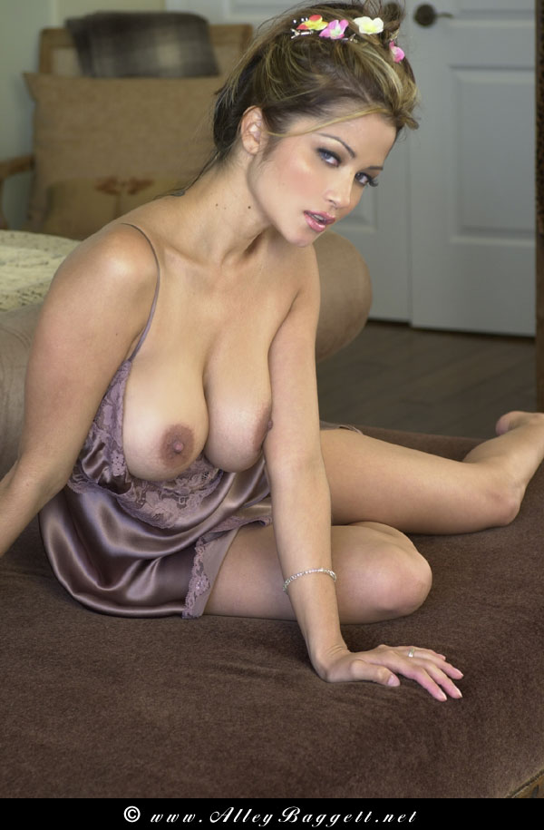 Alley baggett touching tits