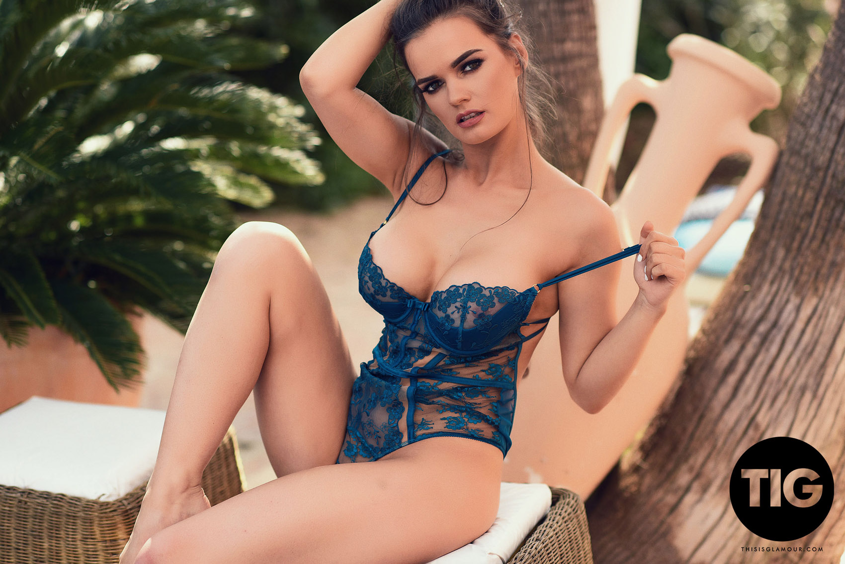 6659f9145 Ashley White Blue Lingerie Nudes This Is Glamour - FoxHQ