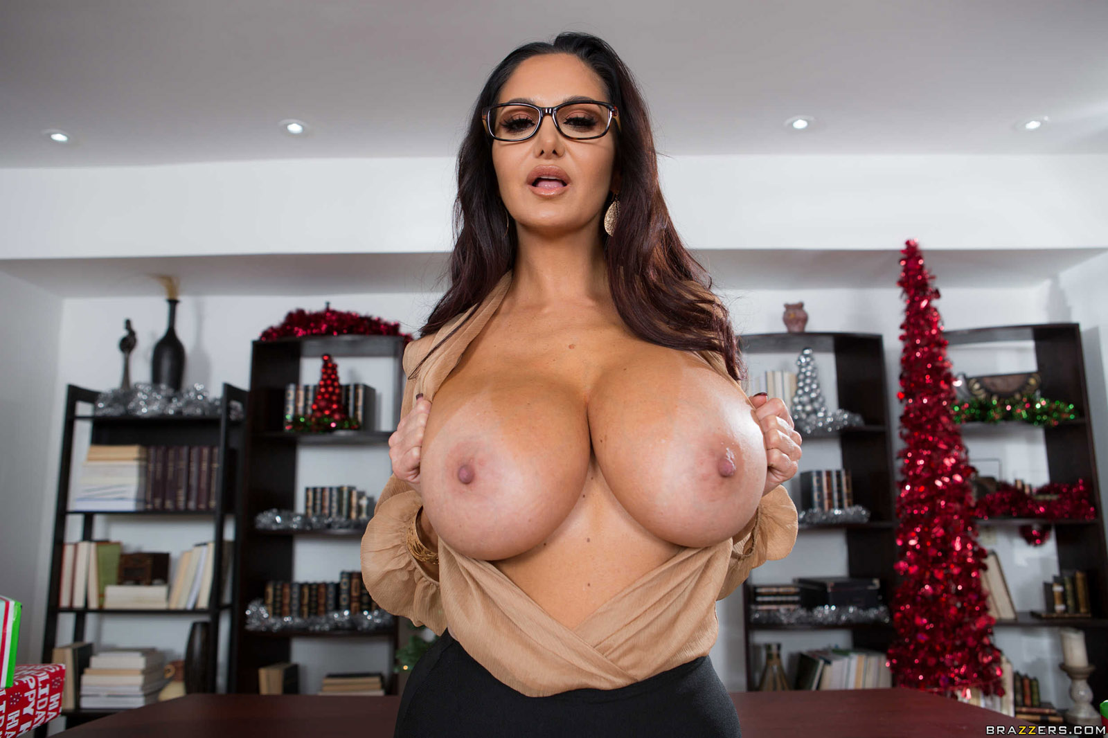 Ava Addams Christmas.Ava Addams Office 4 Play Christmas Brazzers Foxhq