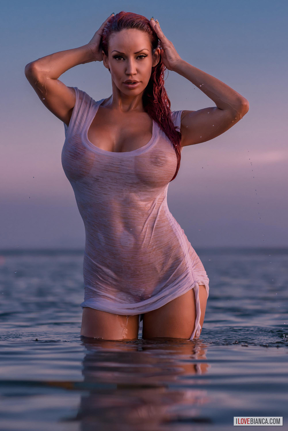 Opinion you Bianca beauchamp wet and naked