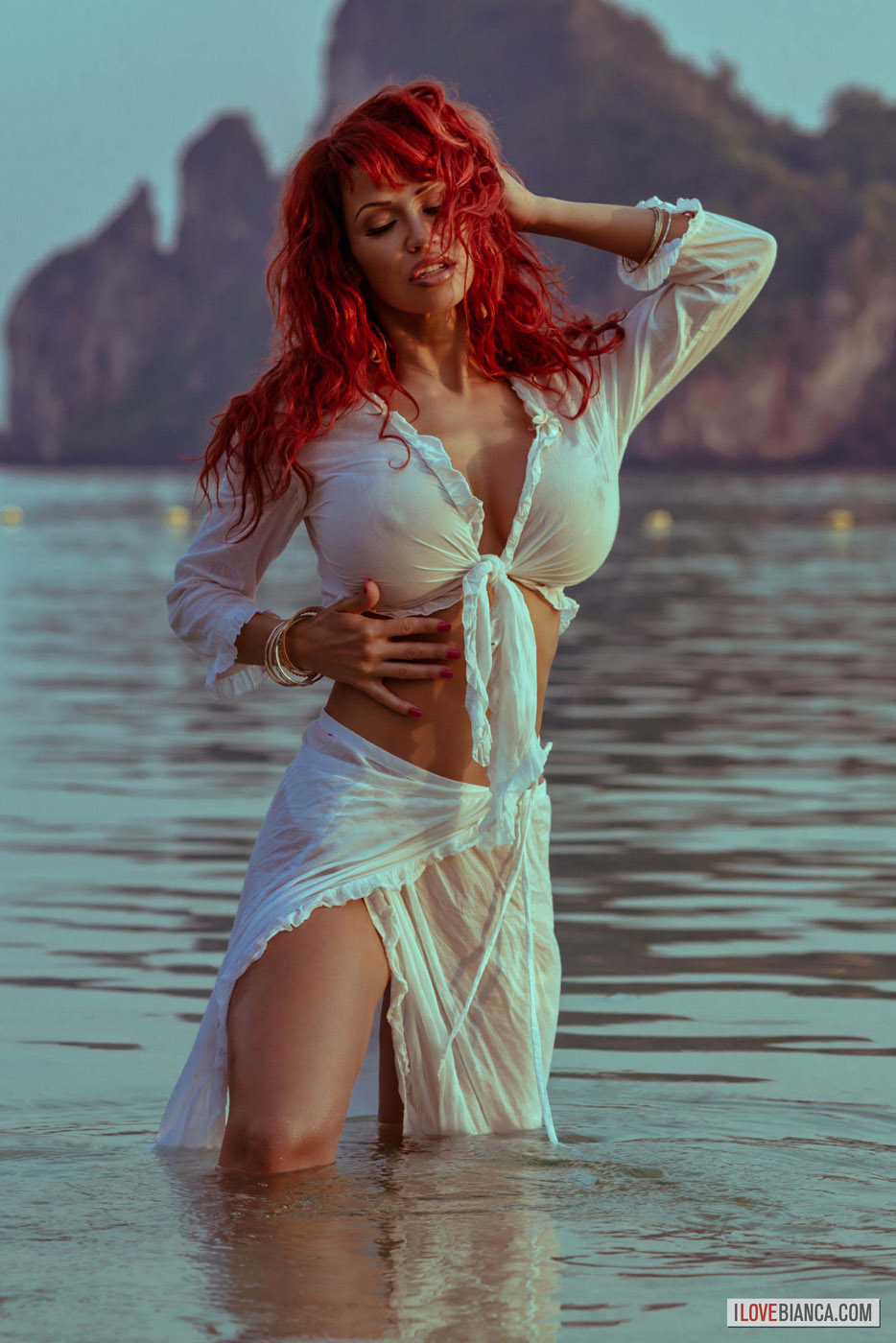 Bianca beauchamp wet and naked assure you