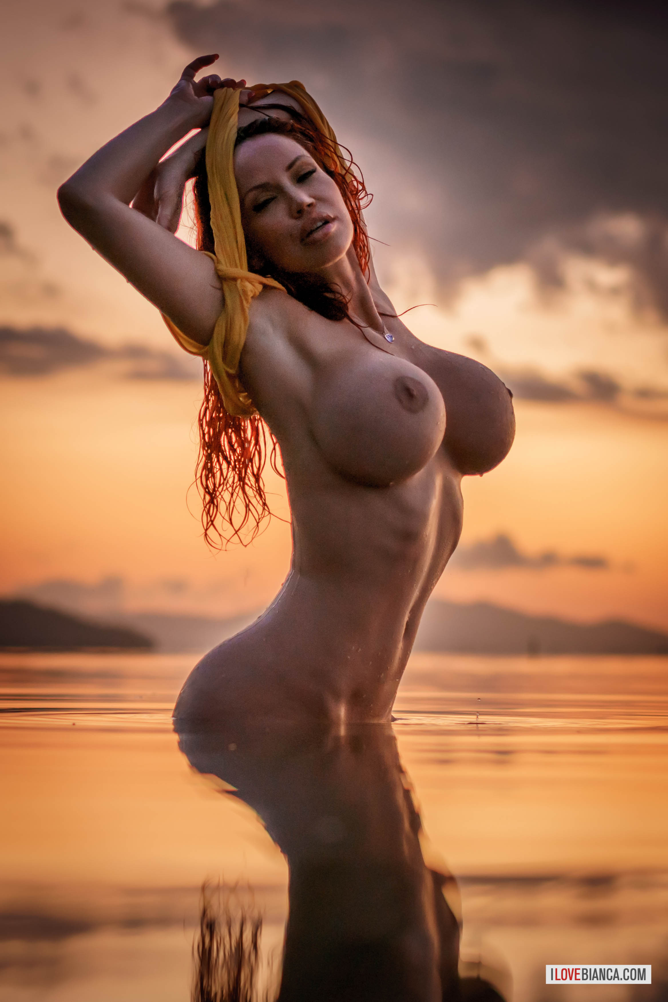 Bianca beauchamp wet and naked better