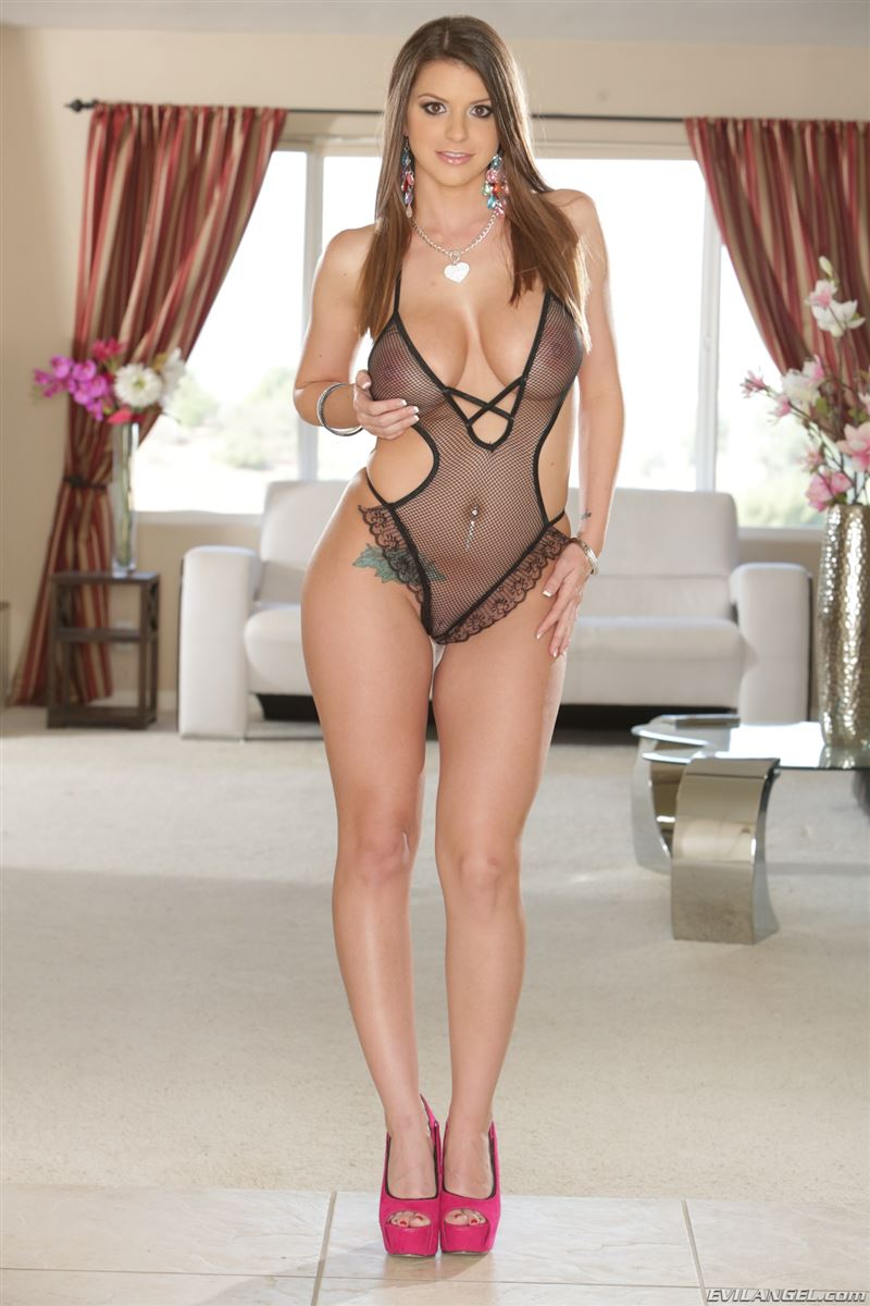 brooklyn chase tall and busty for evil angel - foxhq