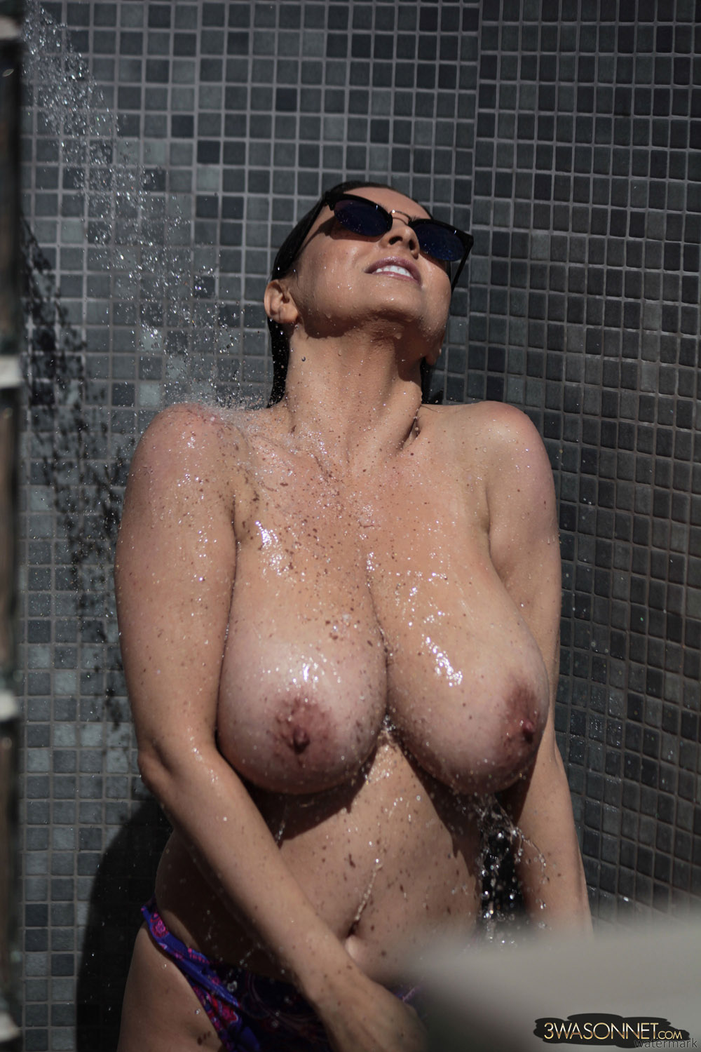 Rather grateful Nude outdoor shower think, that
