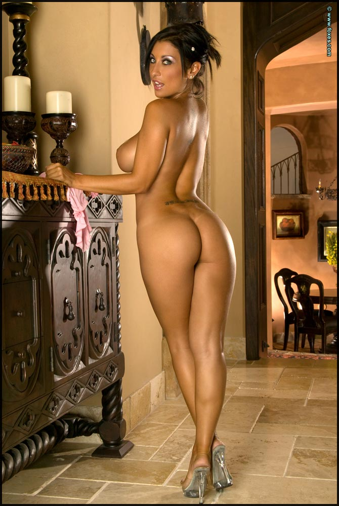 Bare naked female ass