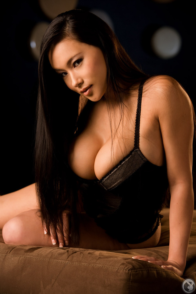 girls Playboy tits asian big