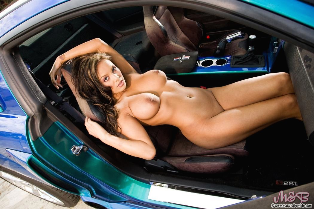 Lowrider car show girl nude