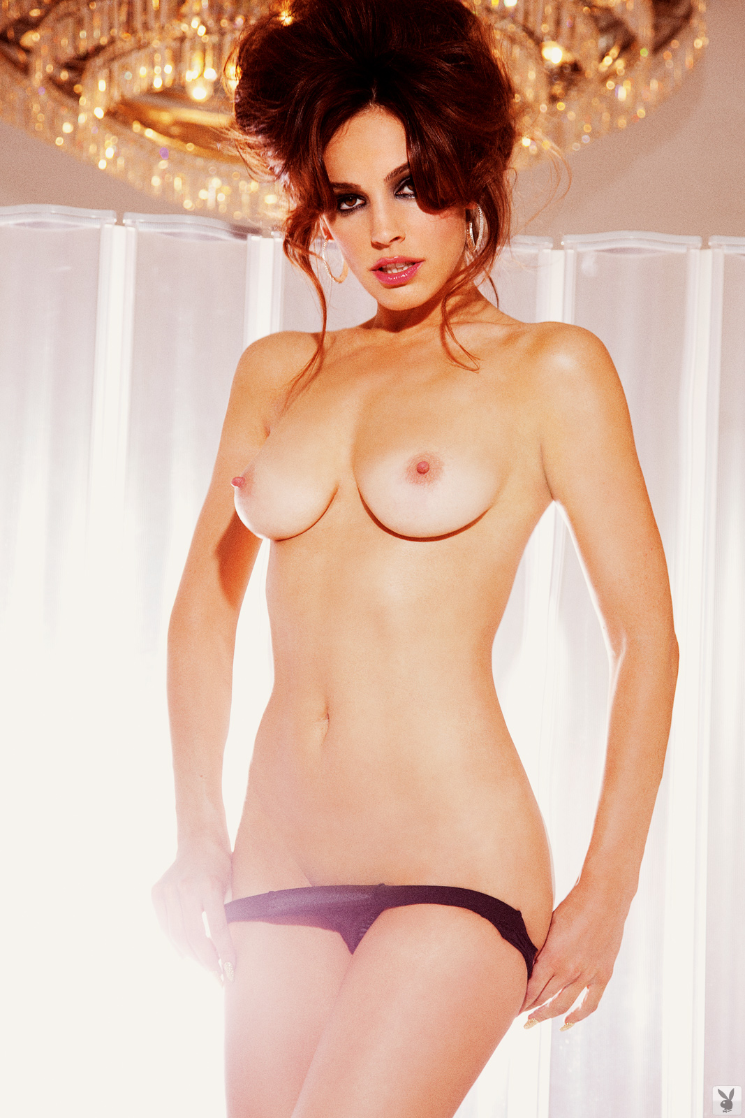 Kelly Brook Playboy Naked
