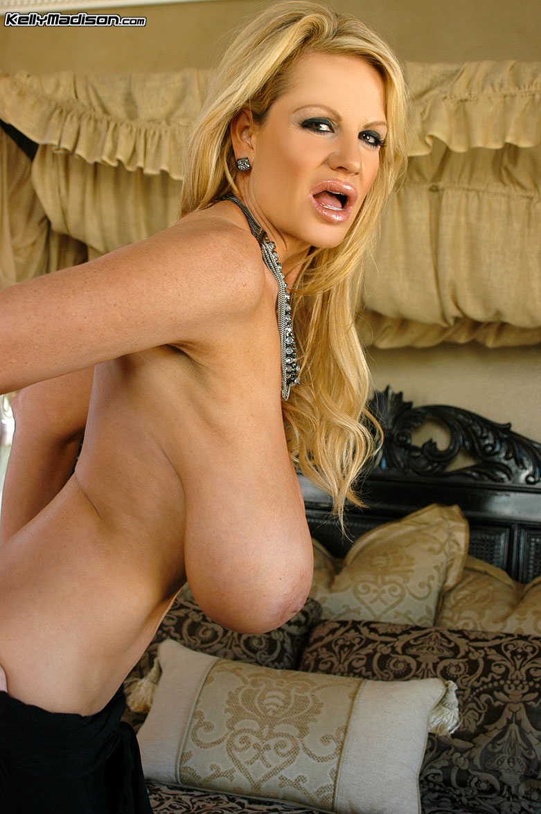 Kelly Madison Black Tube Top