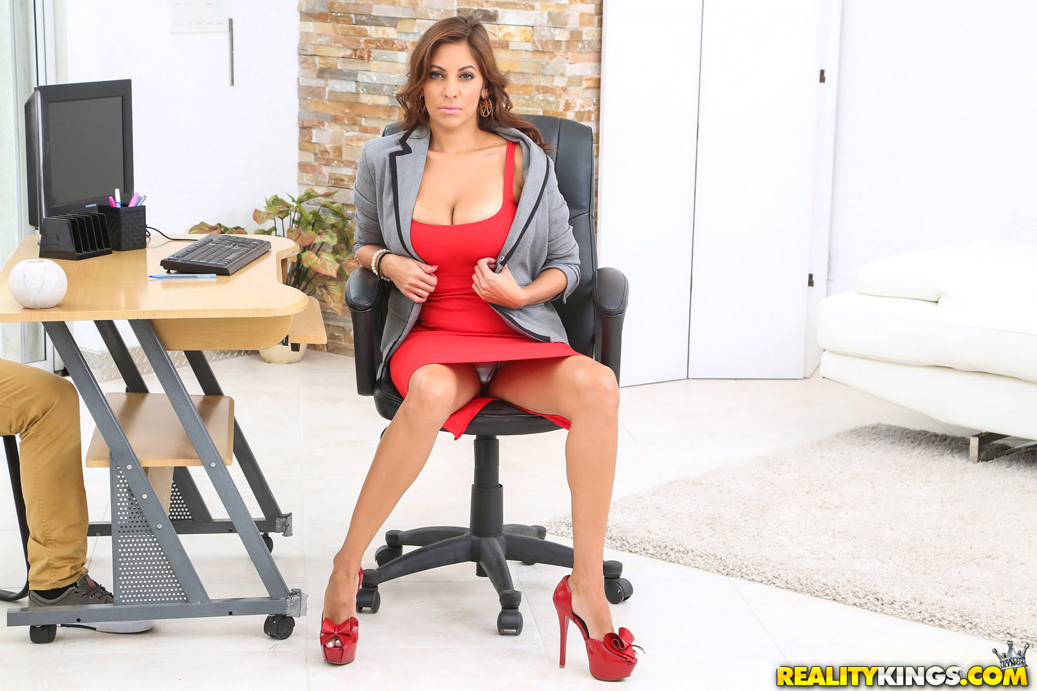 Lisa ann caption porn