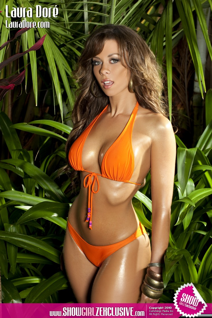laura dore teasing in an orange bikini   hot girls wallpaper