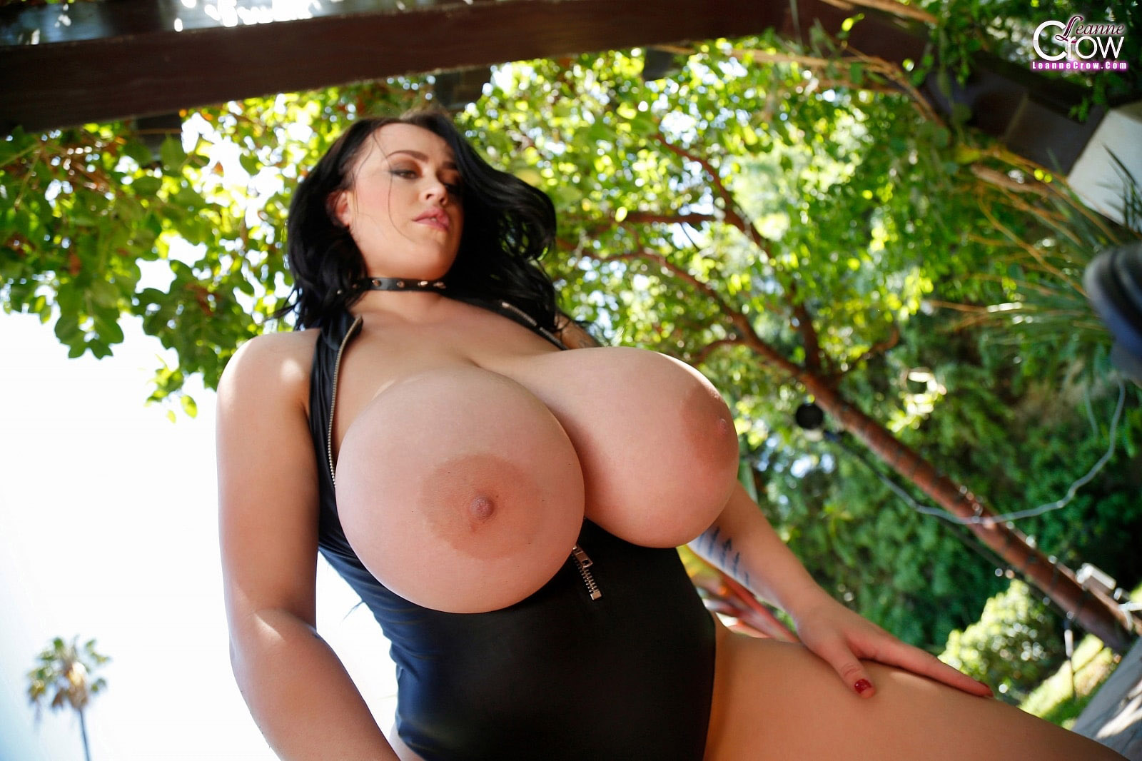 busty leanne crow Super