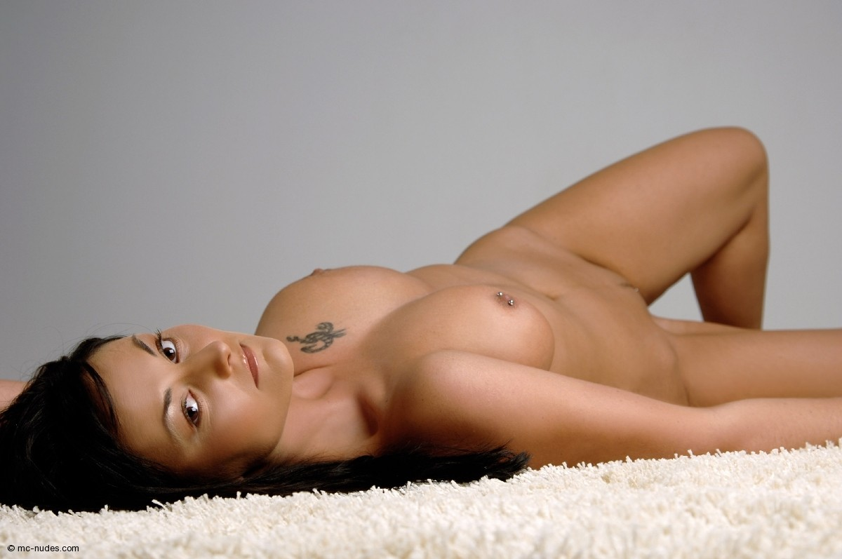 girls laying down nude