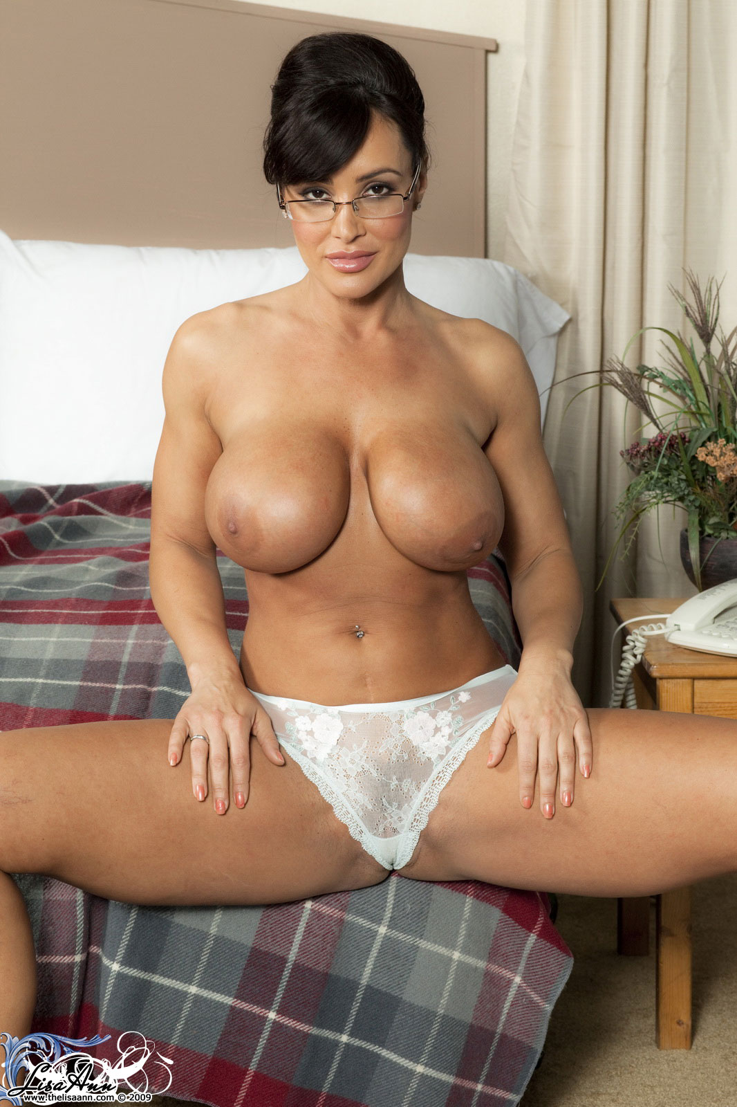 Well, Lisa ann only naked about