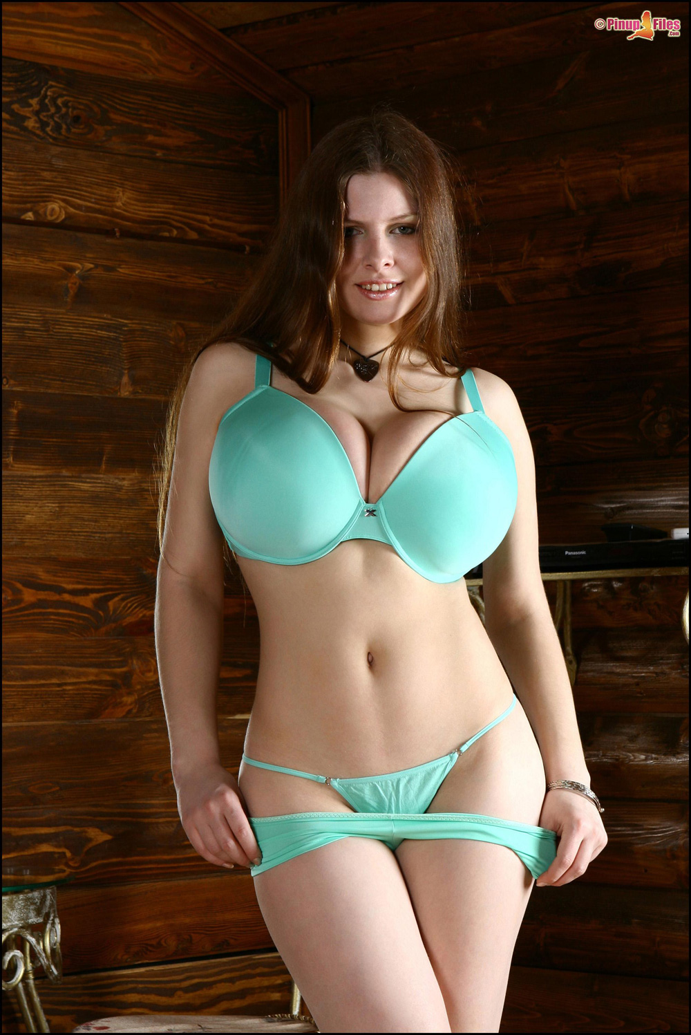 image Skinny slim busty czech first time