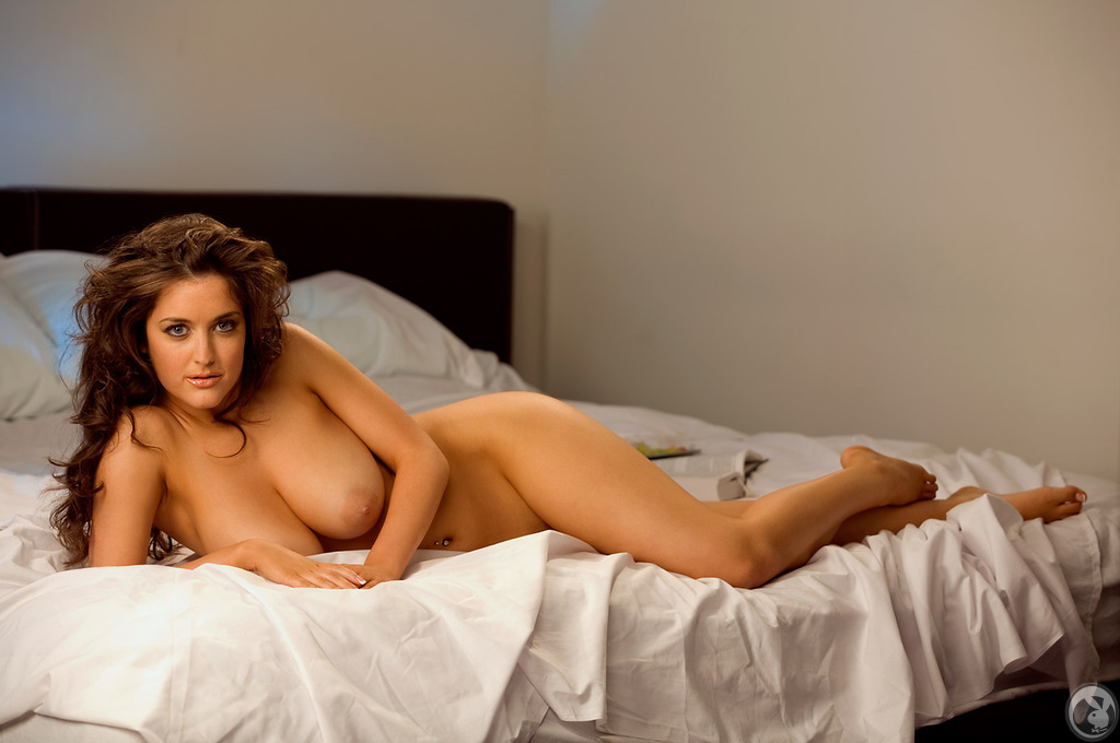 mandy calloway breast nude bed Busty in
