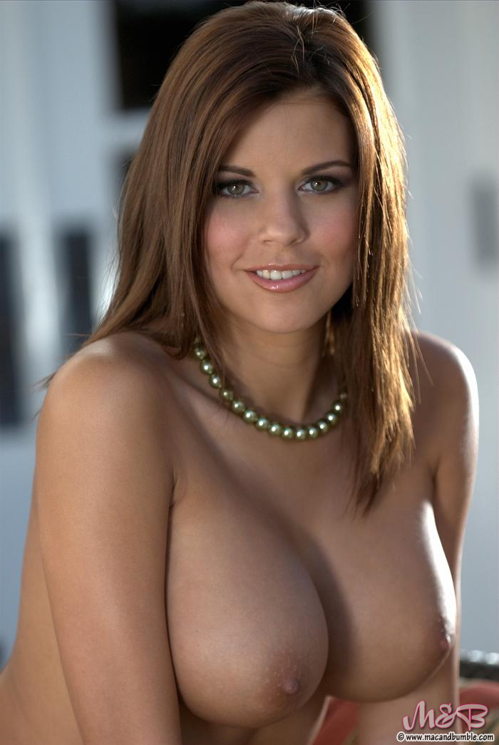 Erica loveless stunning busty brunette for mac and bumble