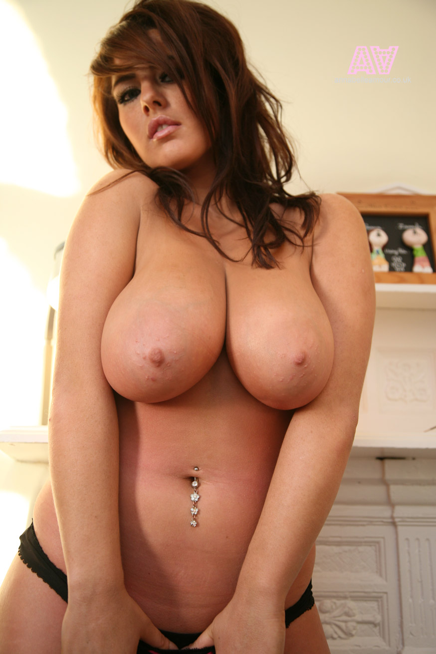 Woman with big tits naked