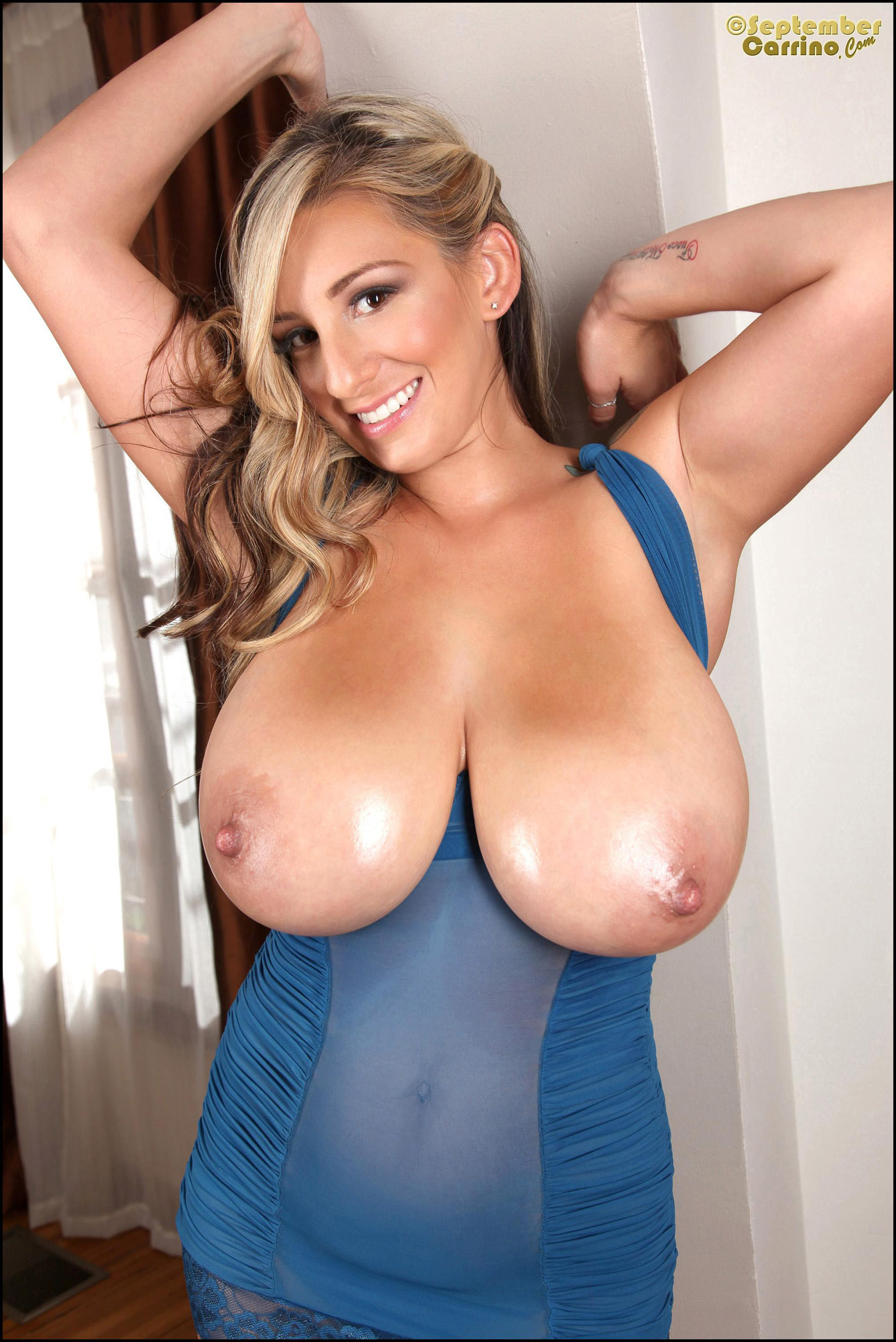 Very big naked tits