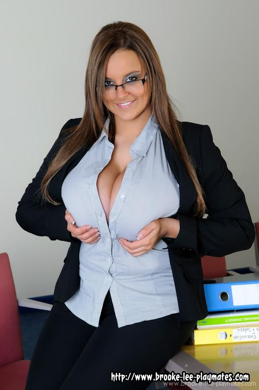 Consider, that big boob secretary strips really