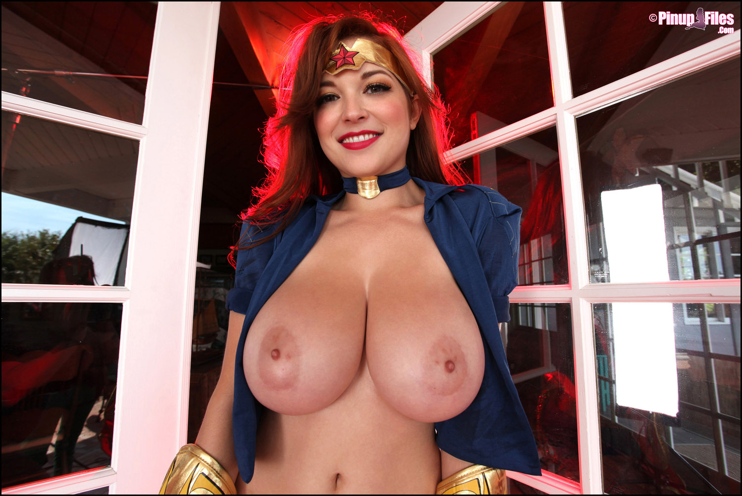 fowler porn Tessa as wonder woman