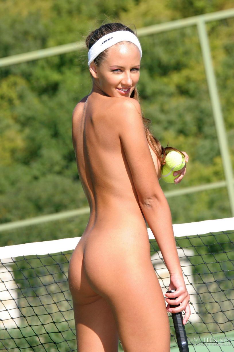 All became Tennis hot chicks nude